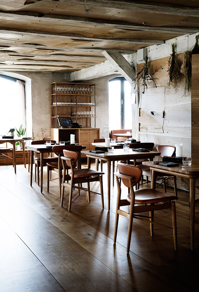 René redzepis new barr restaurant feels like a woodland cabin in copenhagen