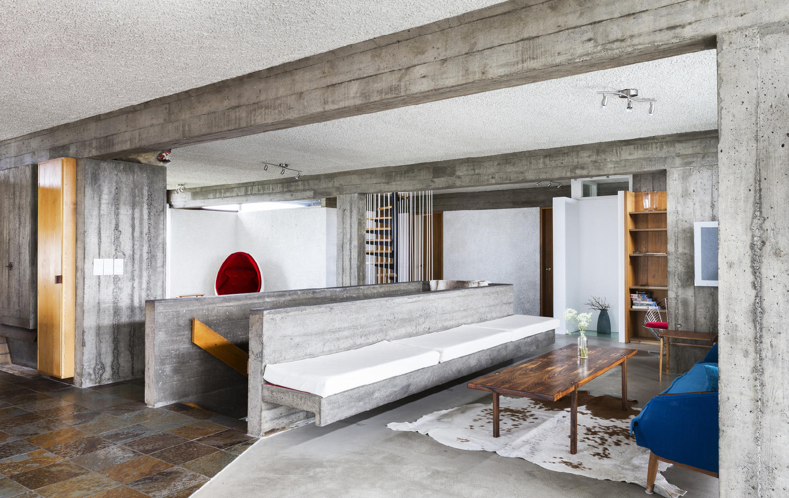 Brutalist House By Iceland S First Female Architect Hits