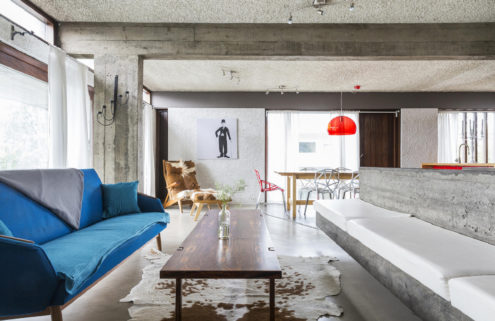 Brutalist house by Iceland's first female architect hits the market