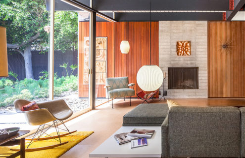 Restored San Diego house by Modernist Craig Ellwood lists for $800k