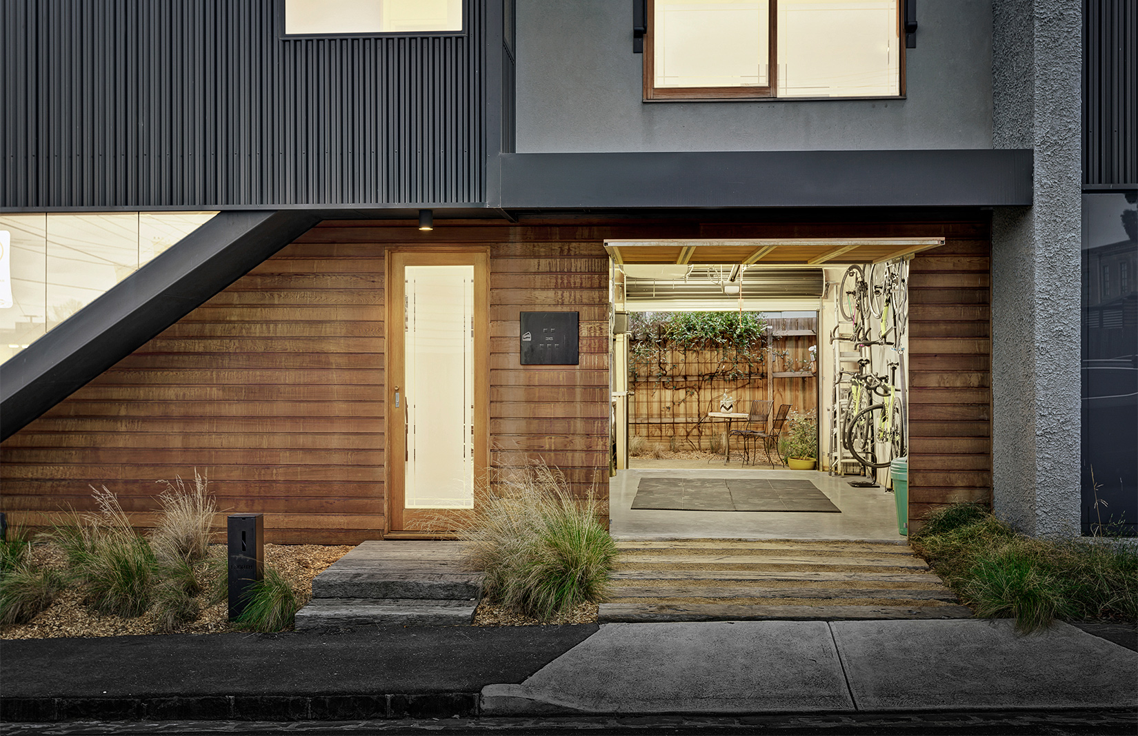 Melbourne townhouse in Brunswick