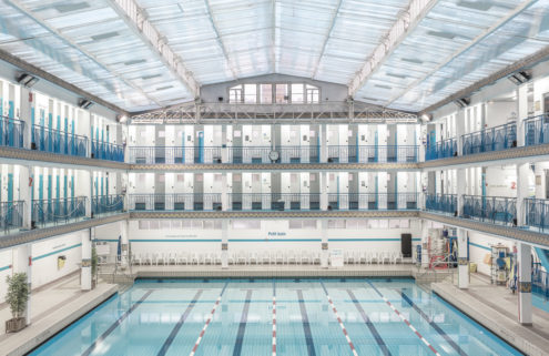 Explore Paris' incredible architectural swimming pools