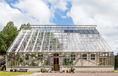 Live inside a Swedish greenhouse – listed for 7m SEK