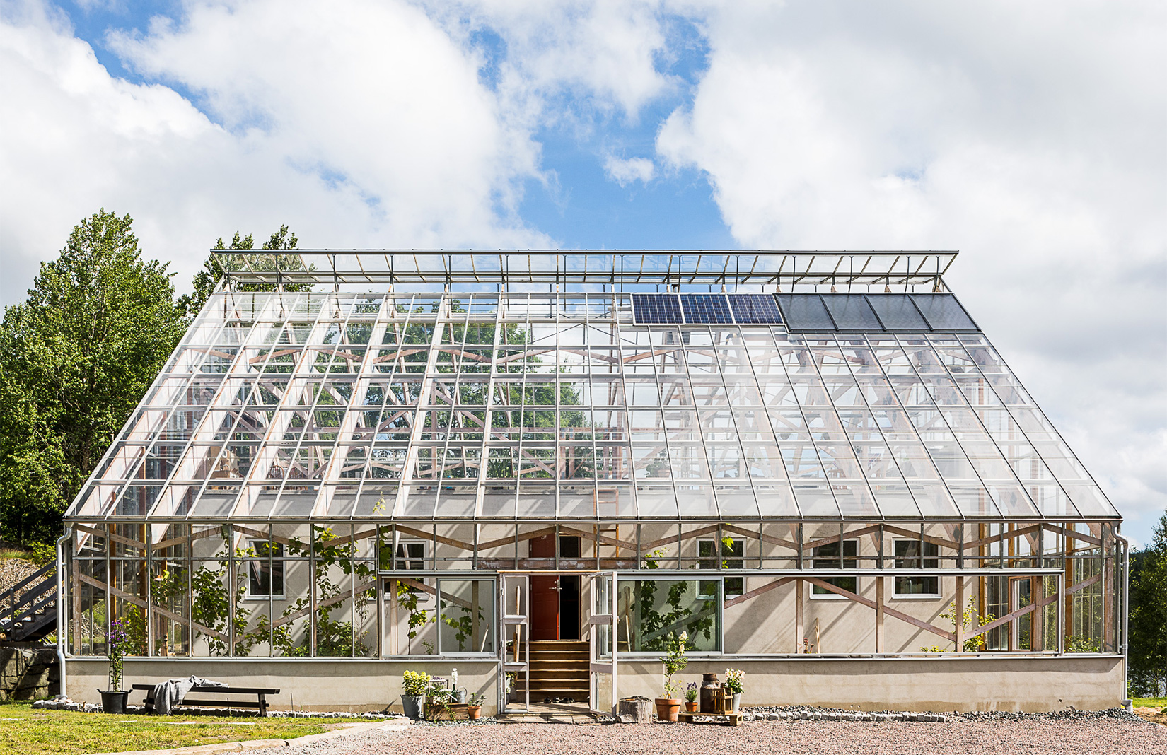 Live Inside A Swedish Greenhouse Listed For 7m Sek