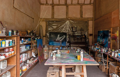 Sidney Nolan's 'time capsule' art studio opens to the public