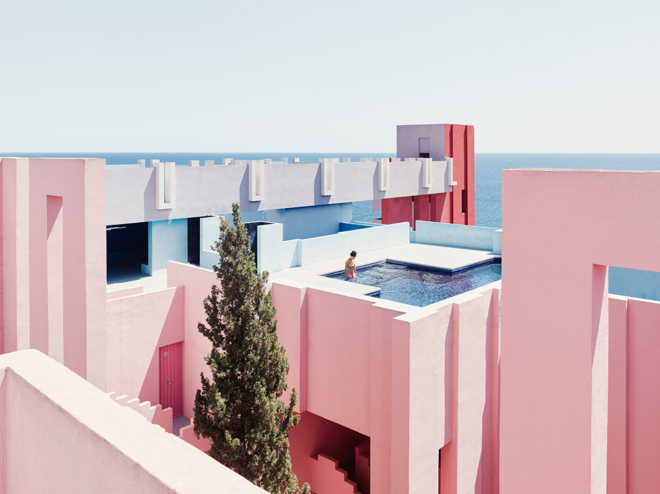 spaces to photograph before you die, including the Muralla Roja in Spain, designed by Ricardo Bofill