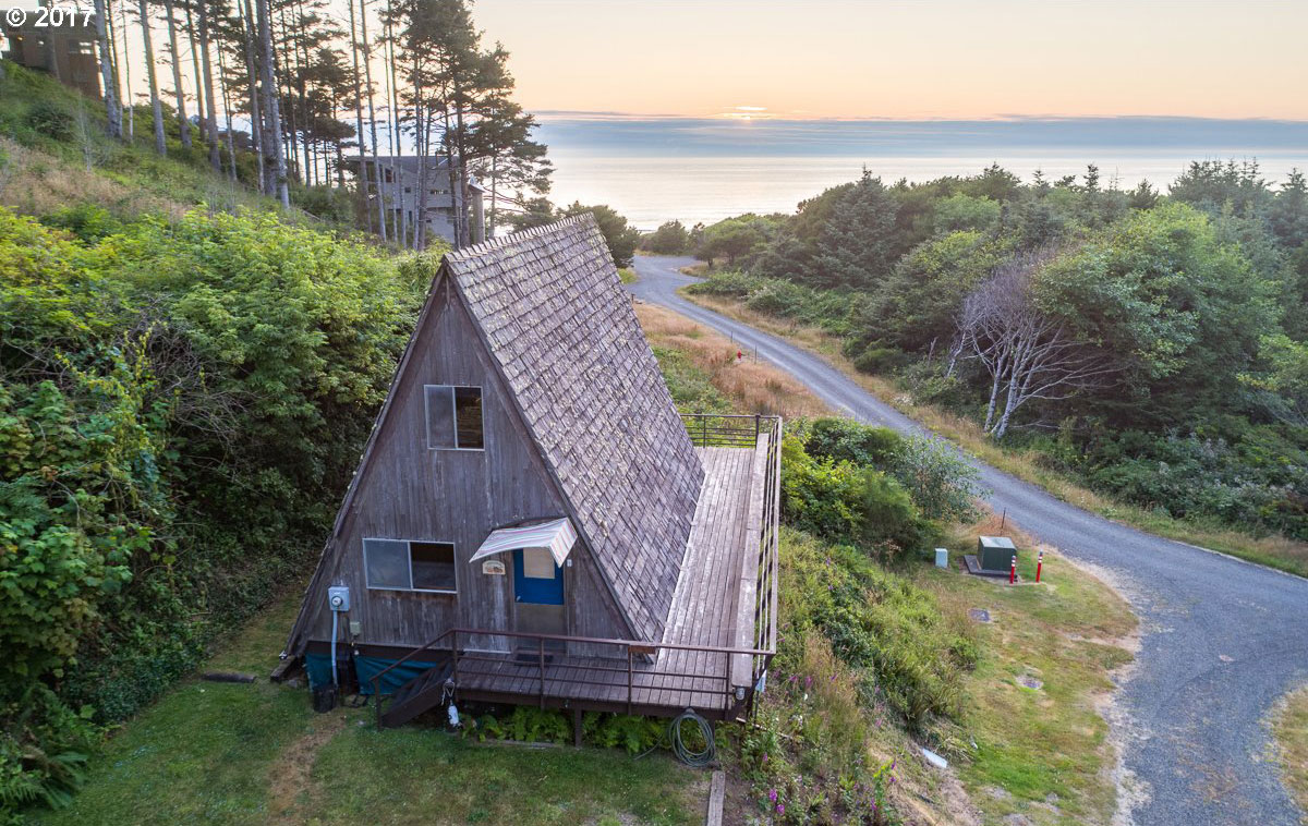 A Frame Beach Cabin For Sale In Oregon
