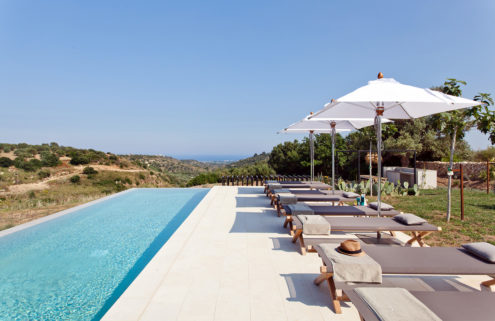 Holiday home of the week: a modern villa in the Sicilian hills