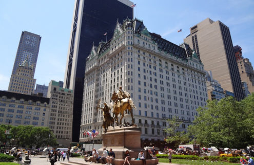 New York's storied Plaza Hotel is for sale – and could fetch over $500m