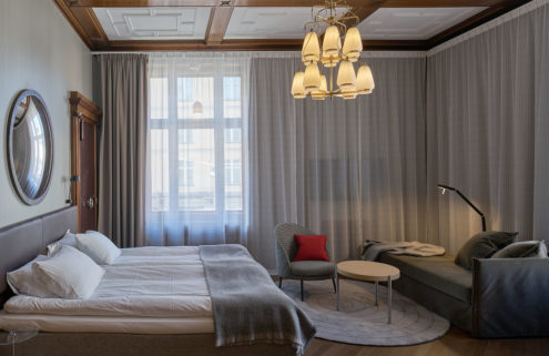Bergen Børs hotel takes over the city's former stock exchange