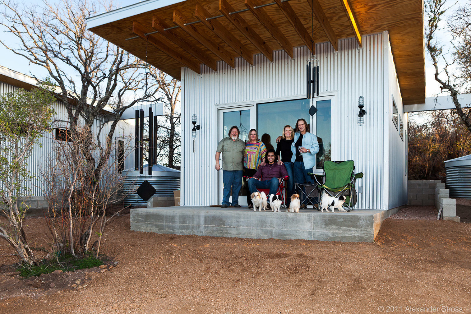 Best Row tiny houses in Texas