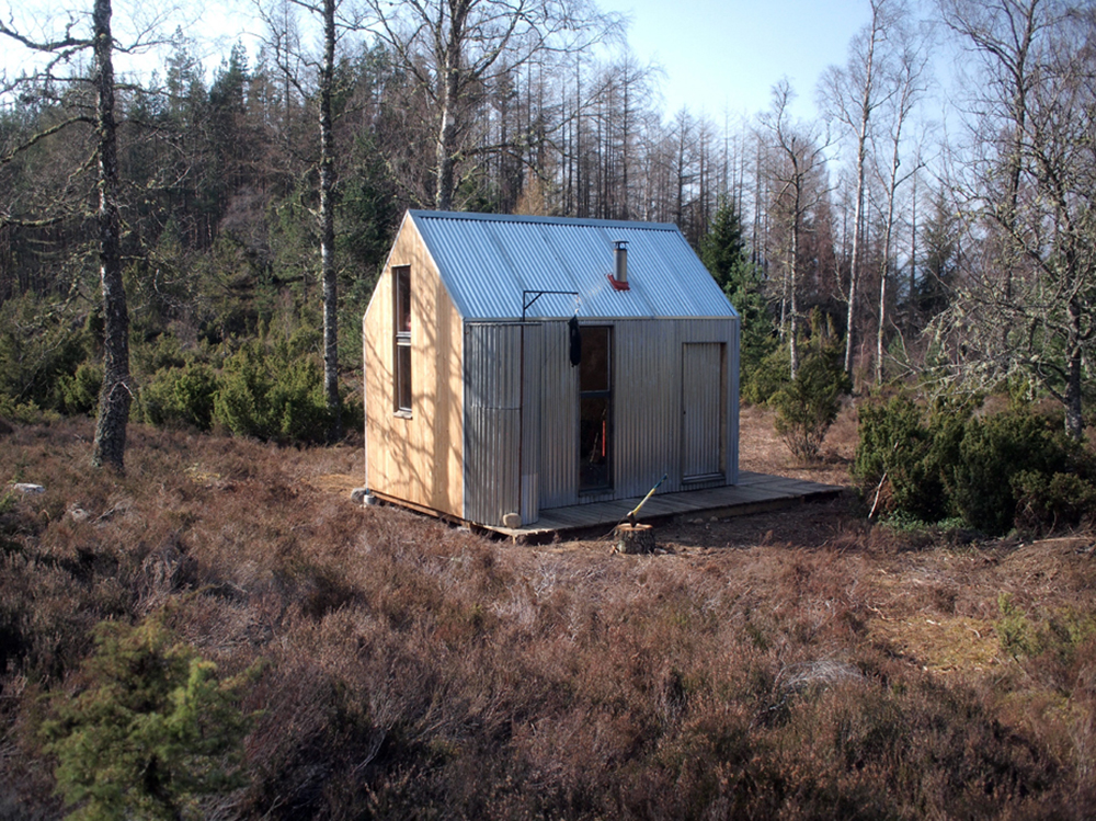 Inshriach Bothy, courtesy of The Bothy Project