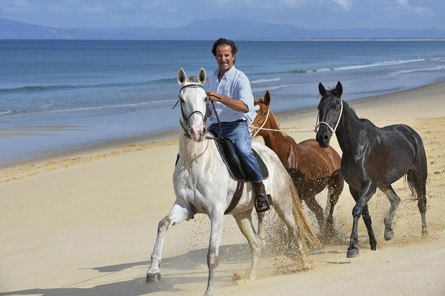 Horse riding on the beaches