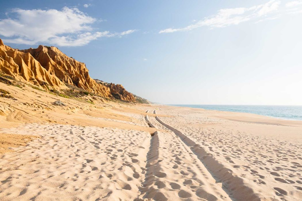 Miles Of Unspoilt Beaches Along The Comporta Coastline. Photography:  Richard John Seymour