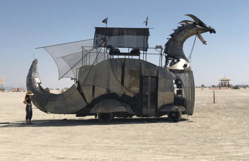 Burning Man 2017: battle of the mutant vehicles