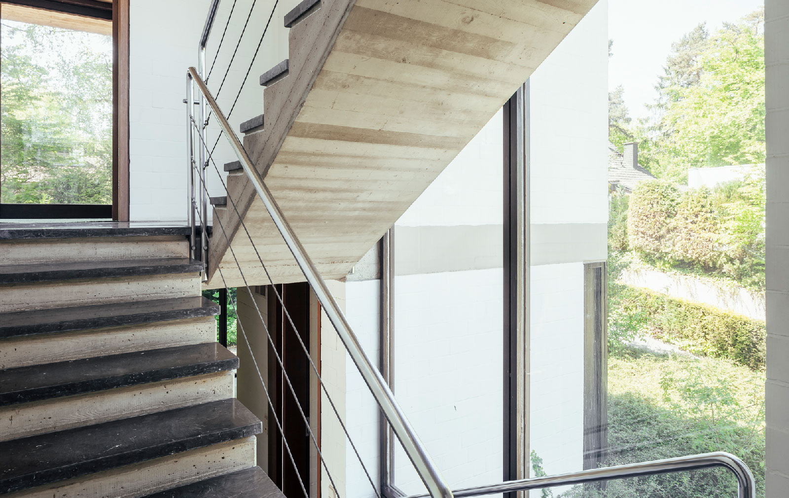 Modernist villa in Achen, Germany by architect Erich Schneider Wessling