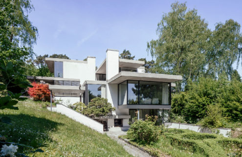 Property of the week: a Modernist villa in Aachen by Erich Schneider-Wessling