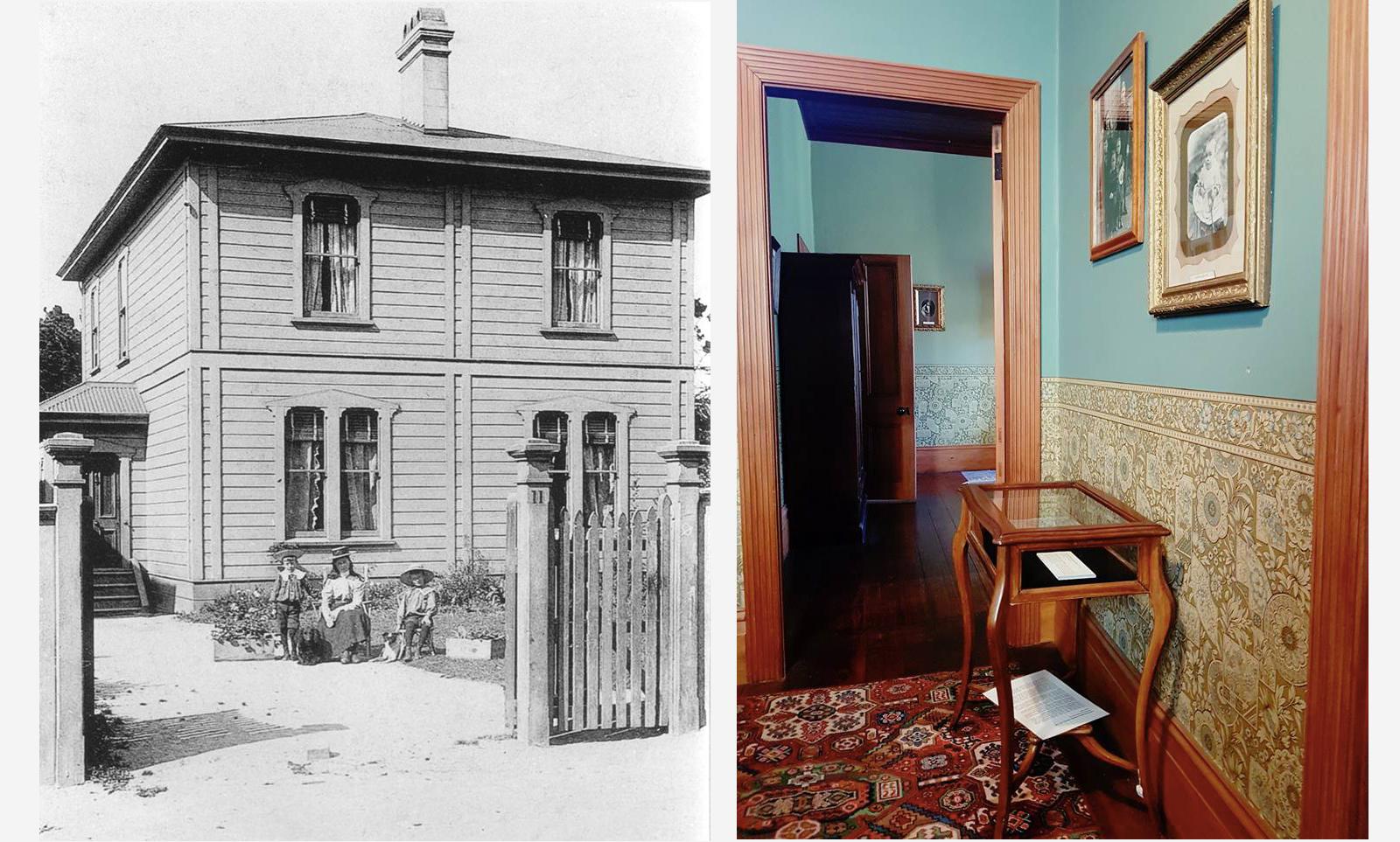 Katherine Mansfield's Birthplace, Thorndon, Wellington