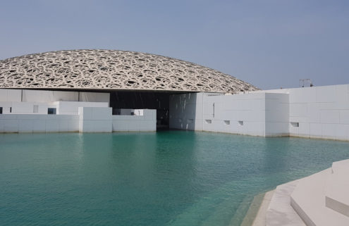 A sneak peek inside the Louvre Abu Dhabi