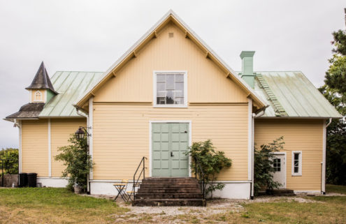 Converted Mission House and barracks for sale in Sweden's Gotland
