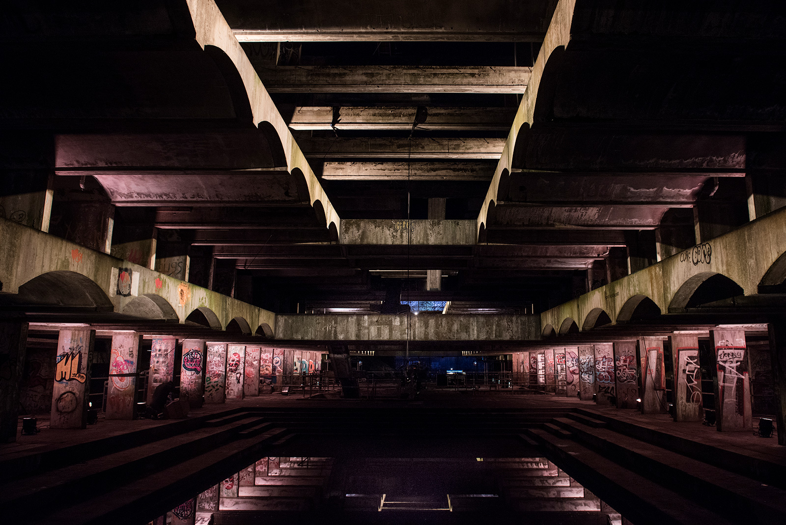 NVA's Hinterland at St Peter's Seminary, Cardross. Photography: Alaisdair Smith