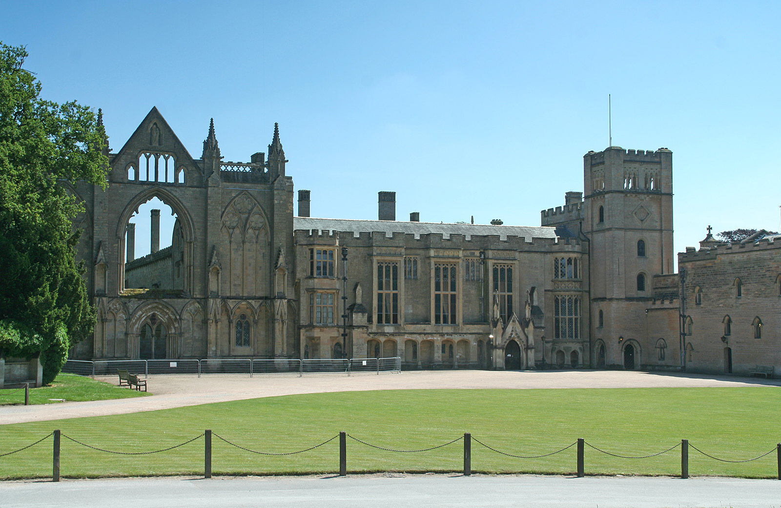 Newstead Abbey - the home of Lord Byron
