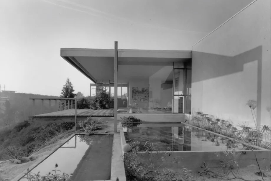 Chuey House by Richard Neutra in Los Angeles