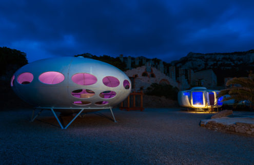 Sci-fi tiny homes land in Marseille