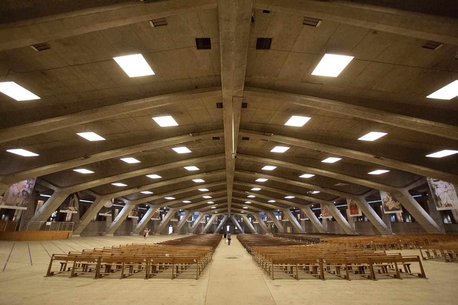 Subterranean churches in France