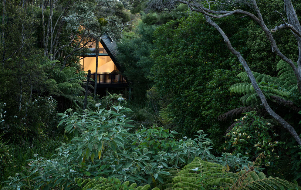 Tent House in Auckland New Zealand by designer Chris Tate