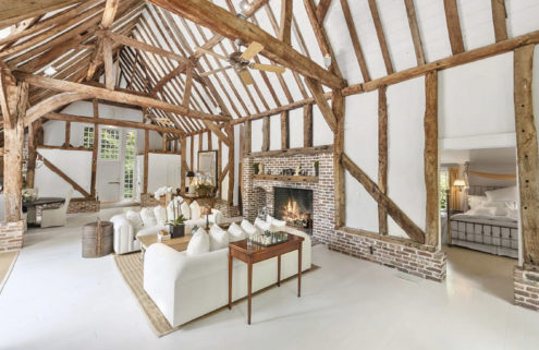 Property of the week: a New York barn conversion with a twist