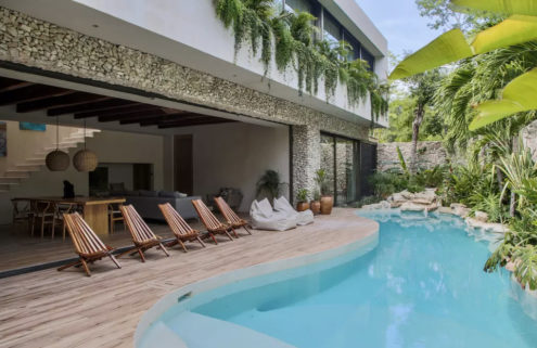 Holiday home of the week: a tropical Mexican hideaway by Co-Lab Design Office