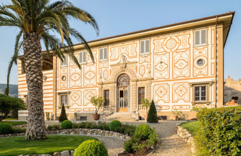 Tuscany's storied Villa Capponi is transformed into apartments