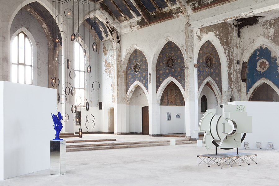 Woods Cathedral in Detroit reborn as the Johnson Trading Gallery