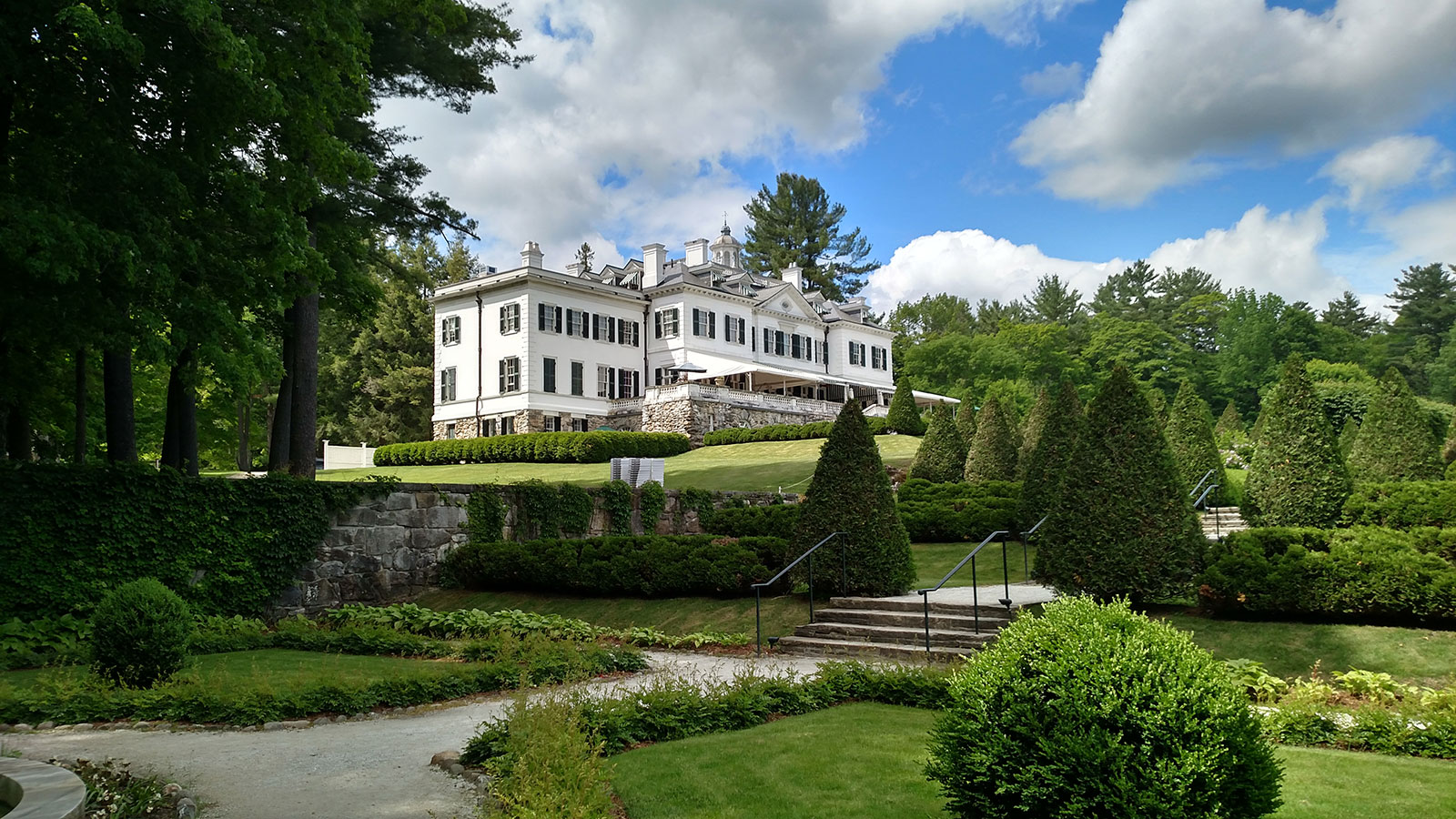 The Mount - Edith Wharton's former home