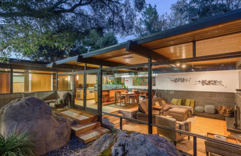 A midcentury classic in the Californian woods lists for $1.7m