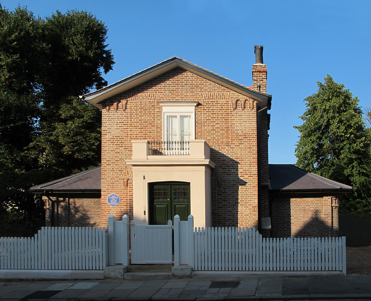 JMW Turner's former home, Sandycombe Lodge in London