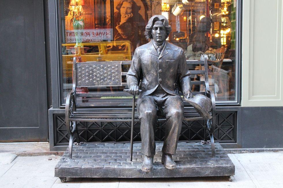 Oscar Wilde bar NoMad