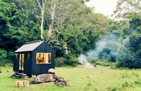 Unyoked launches secret cabins for rent near Sydney