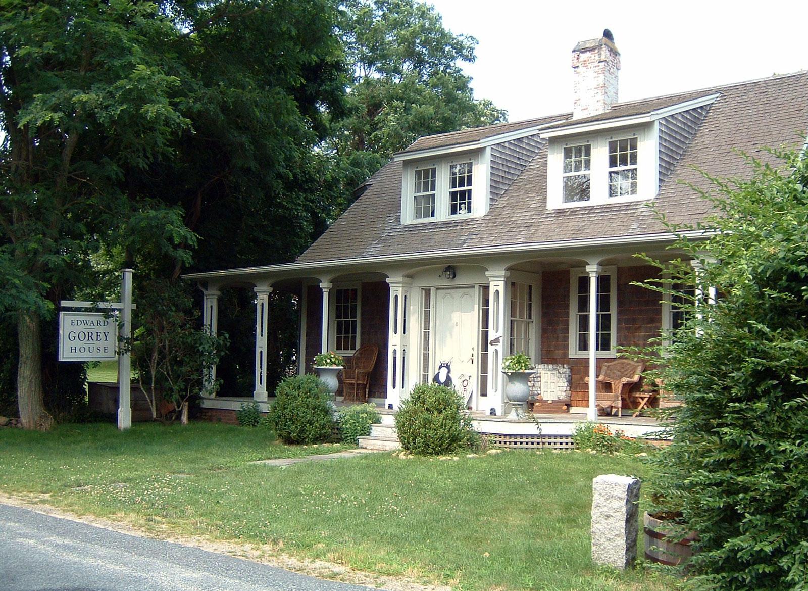 Edward Gorey House - the writer's home