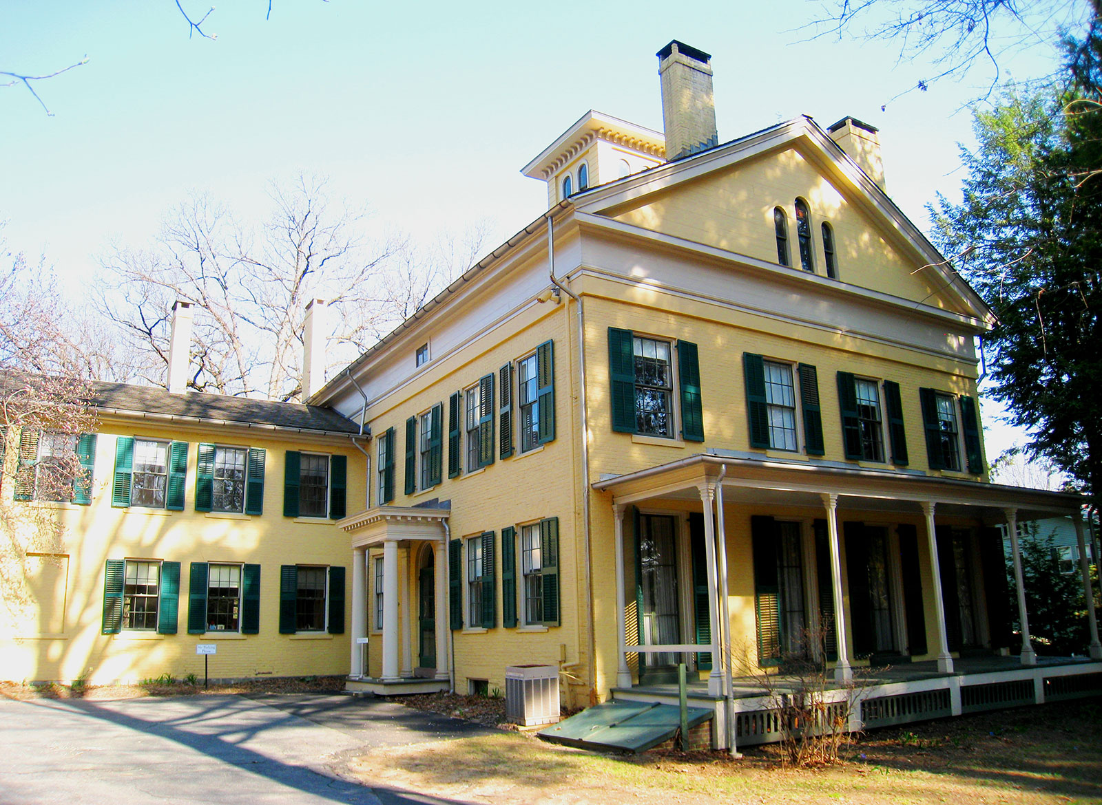 Emily Dickinson Museum - the writer's home