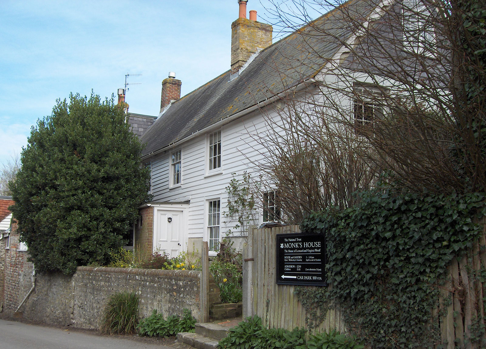 Writer Virginia Woolf's former home, Monk's House