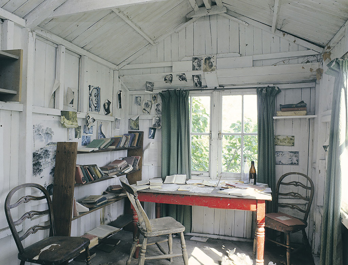 Dylan Thomas' home The Boathouse