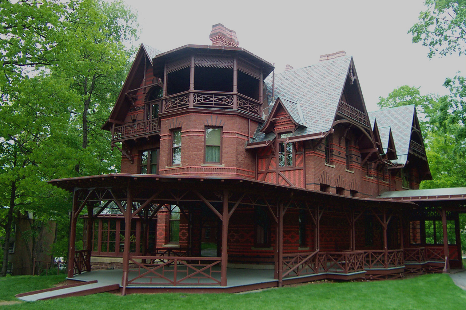 Mark Twain House - the writer's home