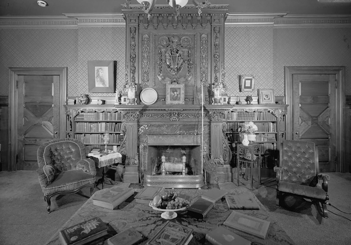 Mark Twain House - the writer's home