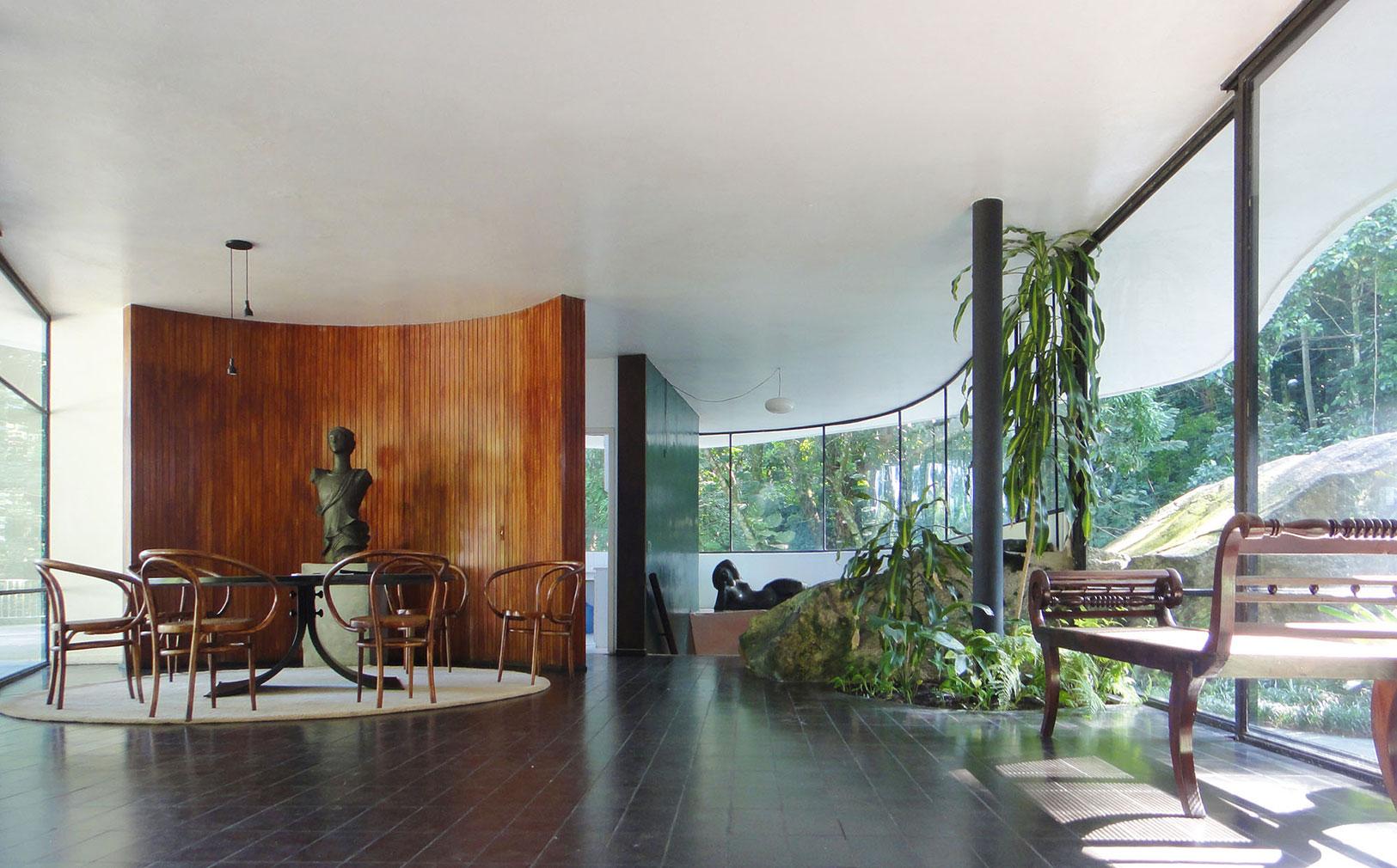 Architects' homes you can visit including Oscar Niemeyer's Casa Das Canoas
