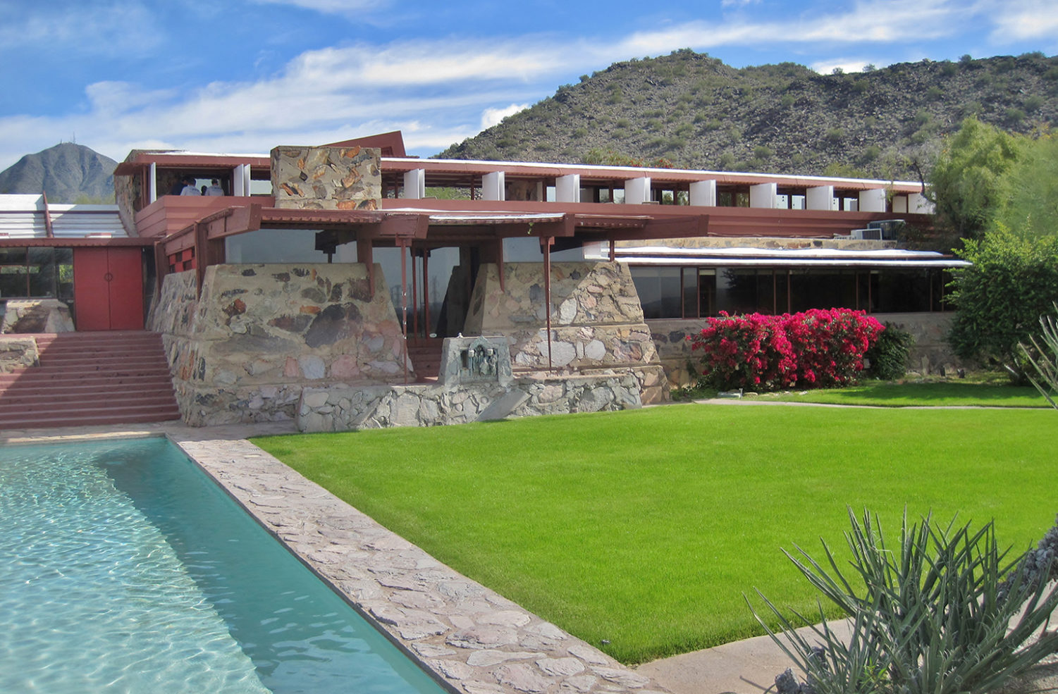 Architects homes including Frank Lloyd Wright's Scottsdale residence