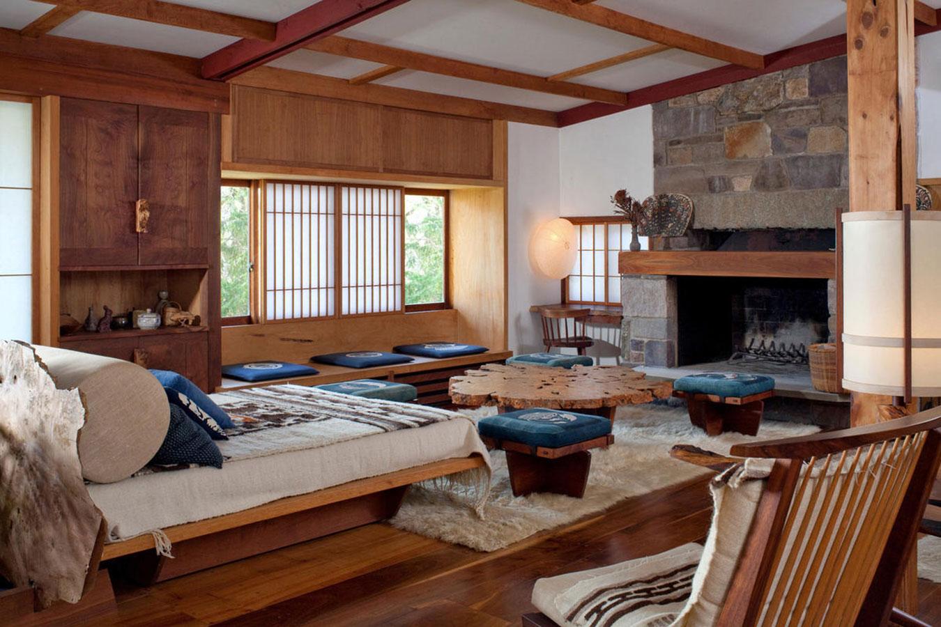 George Nakashima's home