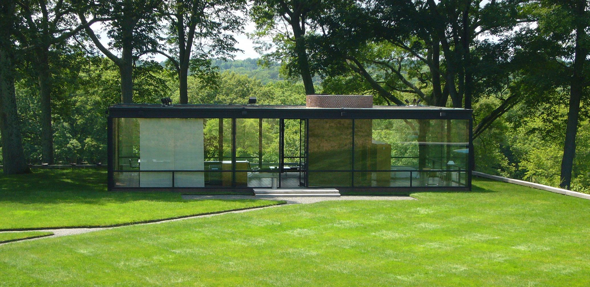 Philip Johnson's Glass House