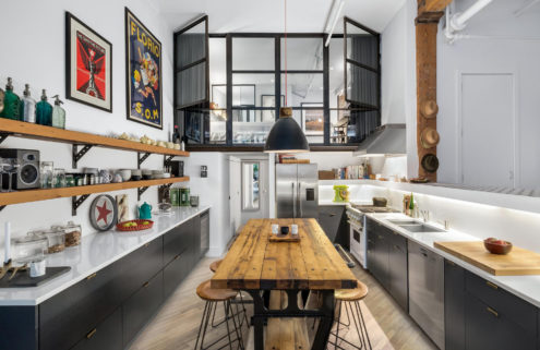 Property of the week: a SoHo loft with soaring ceilings